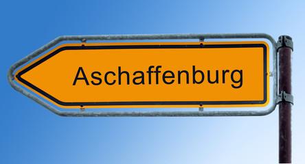 Strassenschild 7 - Aschaffenburg