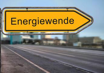 Strassenschild 14 - Energiewende