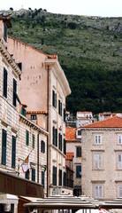 paesaggio urbano di Dubrovnik