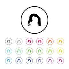 Icon of Yoga Pose