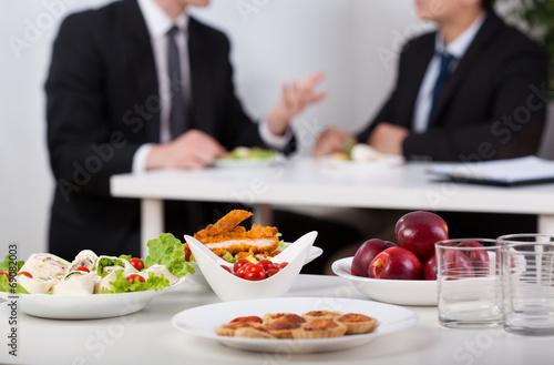 Leinwandbild Motiv Lunch break