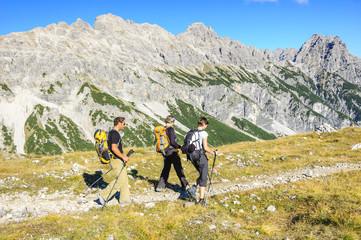 Wanderzeit im Gebirge
