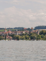 Murten, Altstadt, Murtensee, See, Schloss, Ufer, Schweiz