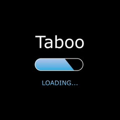 Loading Illustration with Black Background and White Text - Load
