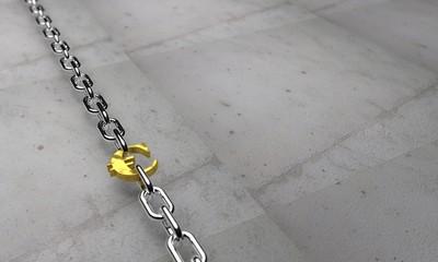 euro ile bağlı zincir