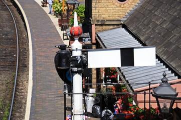 Lower quadrant semaphore signal, Arley © Arena Photo UK