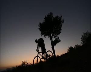 bisikletle zirveden inmek