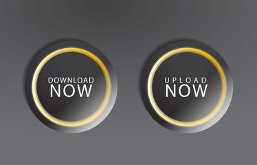 Black download buttons