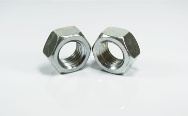 Metallic hexagonal nuts
