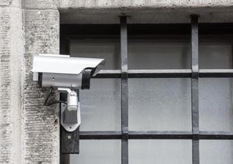 CCTV at Prison Bars