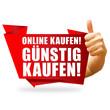 Online kaufen! Günstig kaufen! Button, Icon