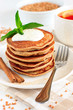 Buckwheat pancakes with banana