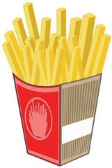 Paquet de frites