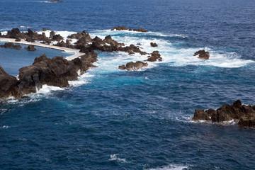 Küste bei Porto Moniz, Madeira