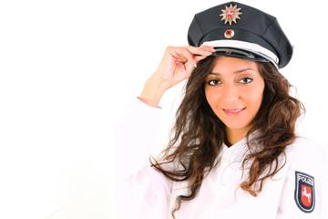 Deutsche Polizistin