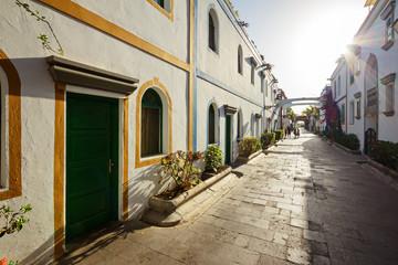 Gasse von Puerto Mogan – Gran Canaria