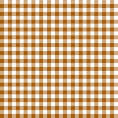 Karo Tischdecken Muster BRAUN - endlos