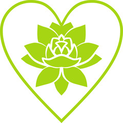 Lotus in the heart