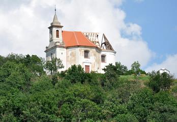 Chapel of Dolni Kaunitz, Czech Republic, Europe