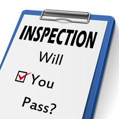 inspection clipboard