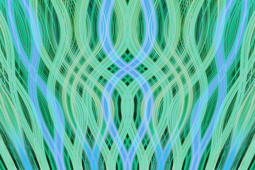 Overlapping Curves Background