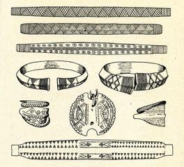 Latvian archeological ornamentation