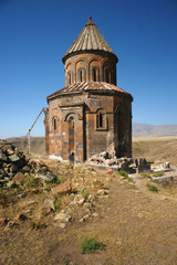 An old armenian church in Ani, eastern Turkey