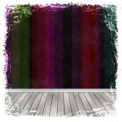 Dark grunge background. Abstract vintage texture with frame and
