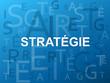 Mosaïque de Lettres STRATEGIE (tactique intelligence objectifs)