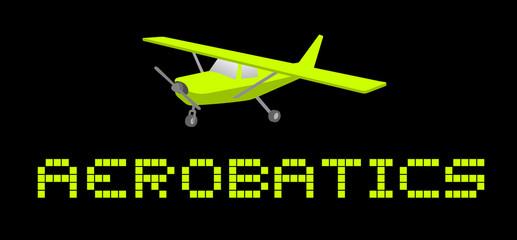 Aerobatics card
