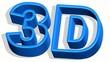 3D Buchstaben animiert schwingend