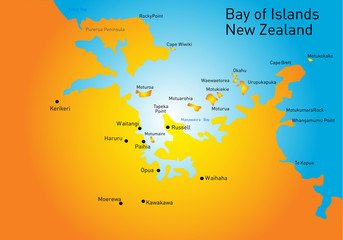 Bay of Island, New Zealand,