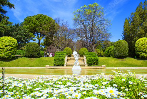 Parc de Pedralbes in Barcelona - 69091267