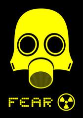 Fear mask symbol