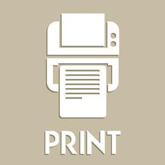 Print symbol