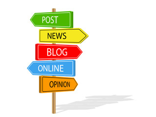 BLOG Signposts (news post online opinion article)