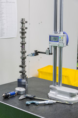 inspection cam shaft of machining process