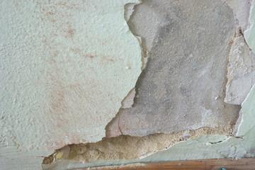 Renovierungsbedürftige Wand