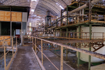 abandoned industry.
