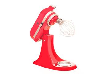 rote Power-Küchenmaschine