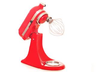 rote kraftvolle Küchenmaschine