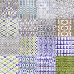 Different tiles lisbon