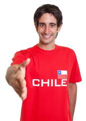 Fan aus Chile sagt hallo
