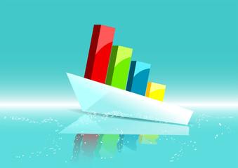 business ship as graph