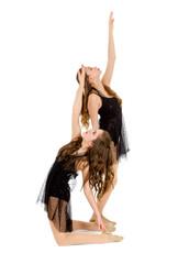 Elegant Lyrical Dance Duo