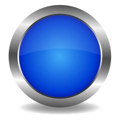 Button blau
