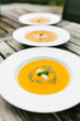canvas print picture - Kalte Tomatensuppe