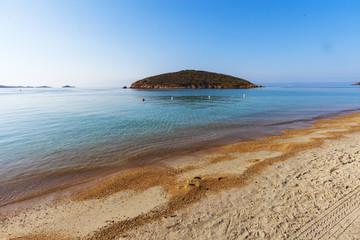 isolettta davanti la spiaggia