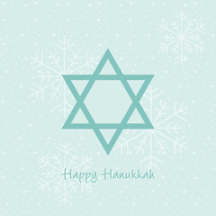 happy hanukkah karte
