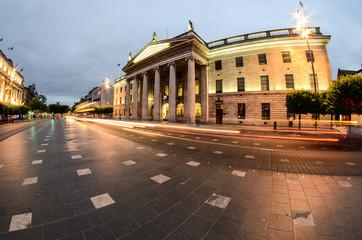 Irish street: O'Connell street
